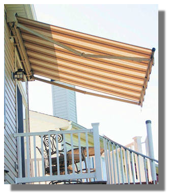 These Awnings Can Be Mounted On A Wall, Under A Soffit Or There Are Even  Special Bracket So We Can Mount Them On Your Roof.