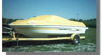 Yellow Boat Cover